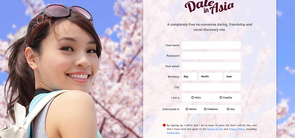 Free dating site in japan